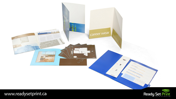 Pocket Folders, Presentation Folders